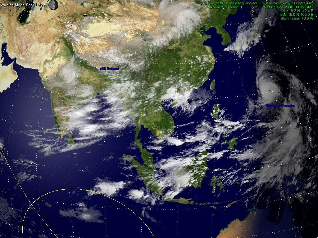 2d Satellite And Weather View Asia Meteo Global Hd
