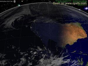 Australia Down Under Map