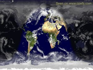 Our planet earth from space the world natural earth map view from natural earth map gumiabroncs Gallery