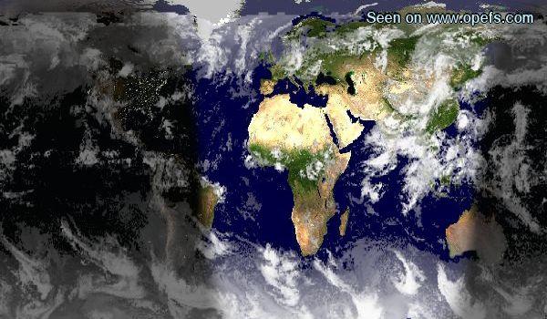 carte mondiale et suivi des cyclones