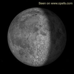 Fase lunar actual