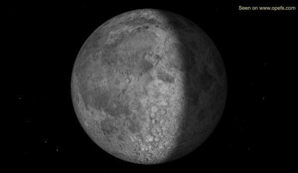 Illuminazione della Luna