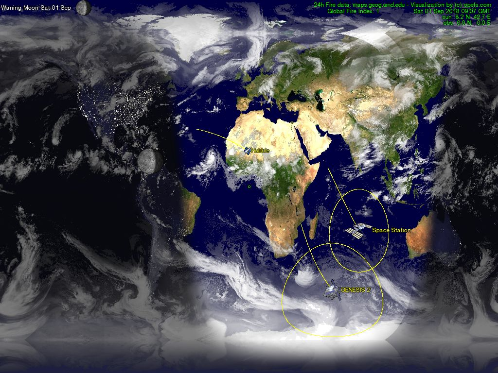 Our planet earth from space the world natural earth map view from the world gumiabroncs Gallery